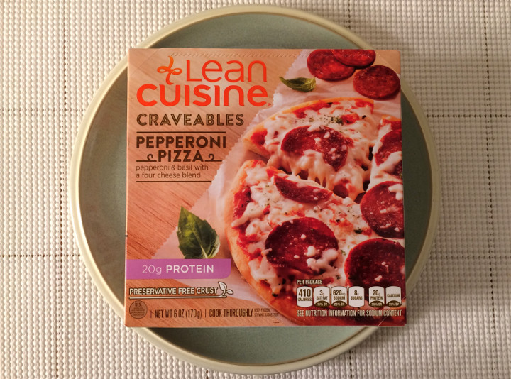 Lean cuisine craveables pepperoni pizza review freezer for Are lean cuisine pizzas healthy