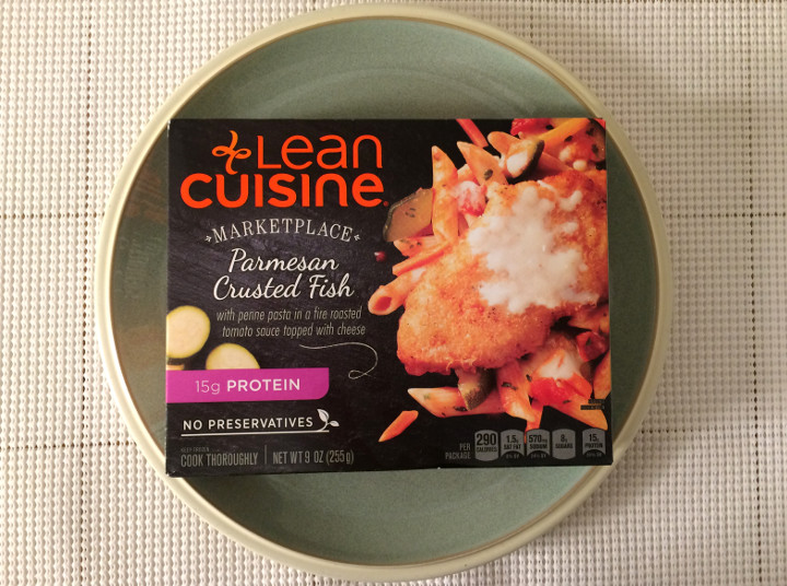 Lean Cuisine Parmesan Crusted Fish