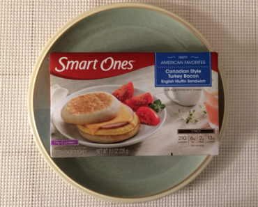 Smart Ones Canadian Style Turkey Bacon English Muffin Sandwich