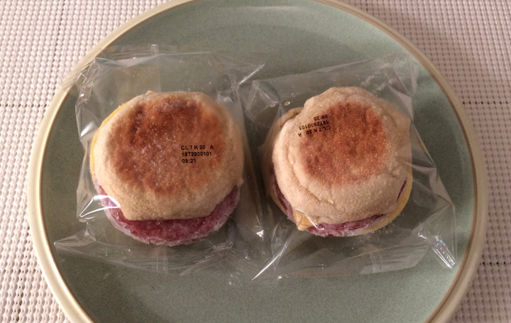 Smart Ones Canadian Style Turkey Bacon English Muffin Sandwich