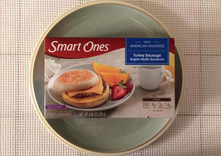 Smart Ones Turkey Sausage English Muffin Sandwich