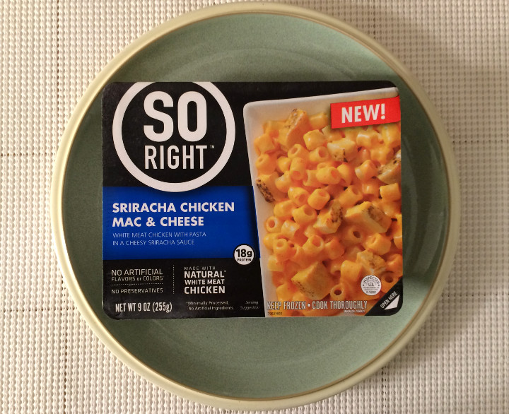 So Right Sriracha Chicken Mac & Cheese