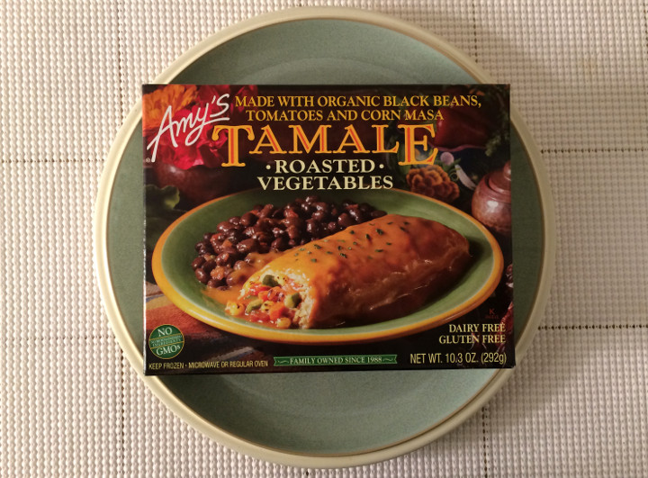 Amy's Roasted Vegetables Tamale