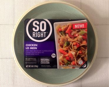 So Right Chicken Lo Mein Review