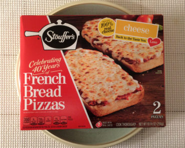 Stouffer's Cheese French Bread Pizza Review