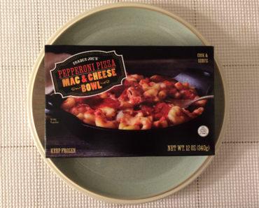 Trader Joe's Pepperoni Pizza Mac & Cheese