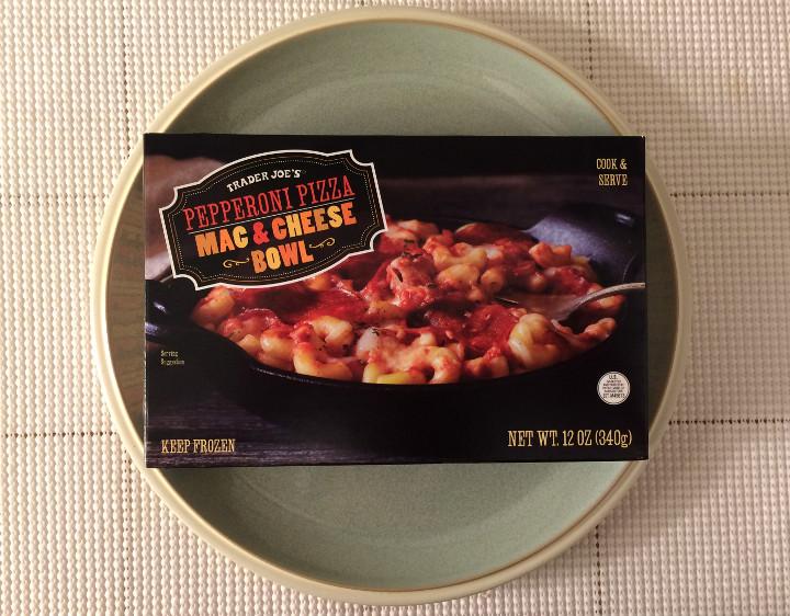Trader Joe's Pepperoni Pizza Mac & Cheese