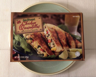 Trader Joe's Southwestern Chicken Quesadillas with Seasoned Vegetables