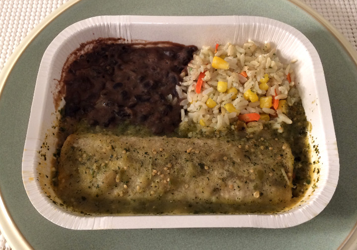 Amy's Spinach & Cheese Enchilada Verde Whole Meal
