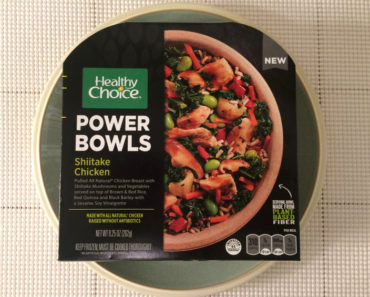 Healthy Choice Shiitake Chicken Power Bowl Review