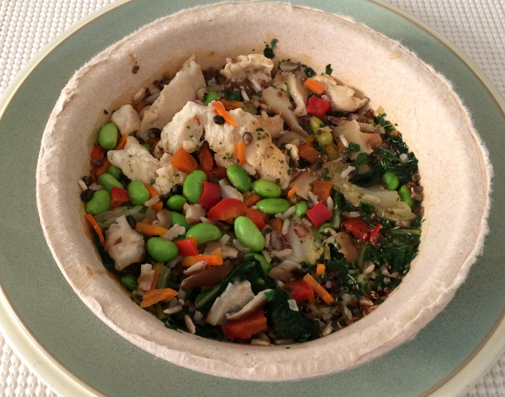 ealthy Choice Shiitake Chicken Power Bowl