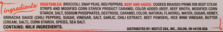 Lean Cuisine Sweet Sriracha Braised Beef