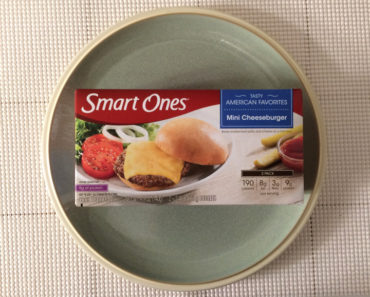 Smart Ones Mini Cheeseburger