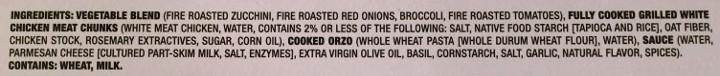 Smart Made Pesto Chicken & Orzo