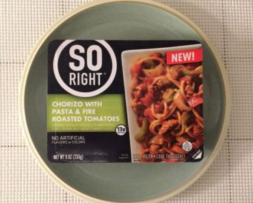 So Right Chorizo with Pasta & Fire Roasted Tomatoes Review