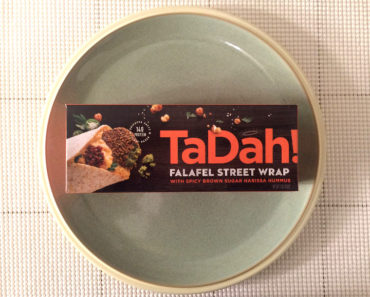 TaDah! Falafel Street Wrap with Spicy Brown Sugar Harissa Hummus