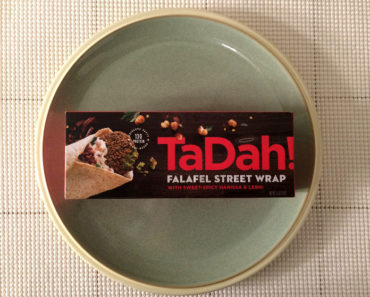 TaDah! Falafel Street Wrap with Sweet-Spicy Harissa & Lebni