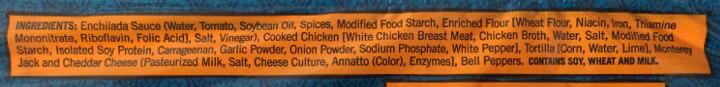 Trader Joe's Chicken Enchiladas