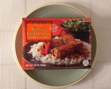 Trader Joe's Korma Fish Curry with Basmati Rice