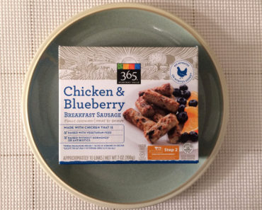 365 Everyday Value Chicken & Blueberry Breakfast Sausage