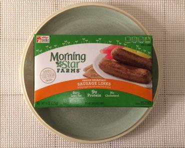 Morningstar Farms Veggie Breakfast Sausage Links Review