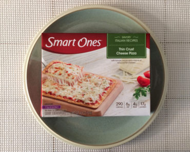 Smart Ones Thin Crust Cheese Pizza