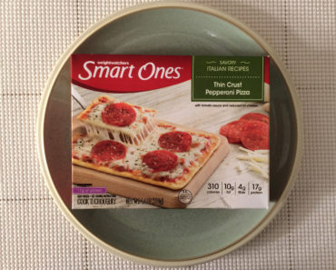 Smart Ones Thin Crust Pepperoni Pizza
