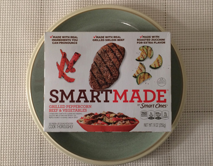 Smart Made Grilled Peppercorn Beef & Vegetables