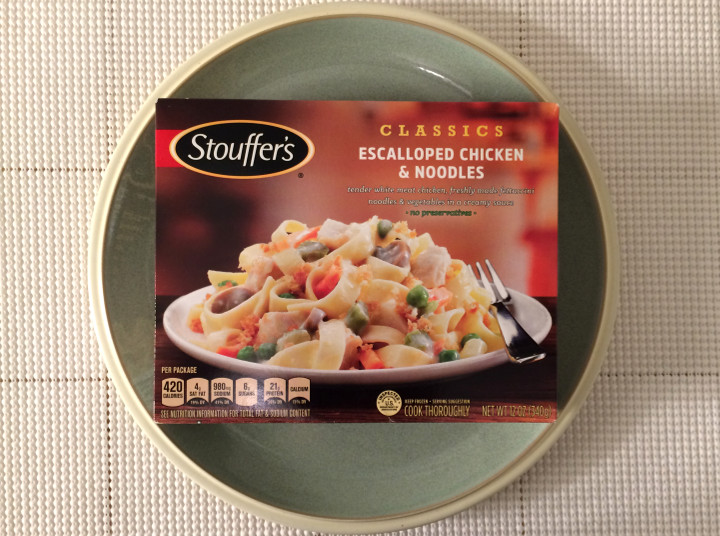 Stouffer S Escalloped Chicken Amp Noodles Review Freezer