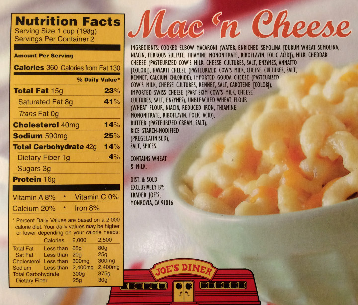 Trader Joe's Mac 'N Cheese