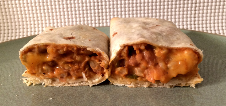 Trader Joe's 99% Fat Free Bean & Rice Burrito