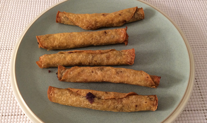 Trader Joe's Handcrafted Black Bean & Cheese Taquitos
