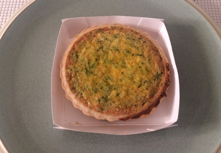 Trader Joe's Broccoli & Cheddar Cheese Quiche