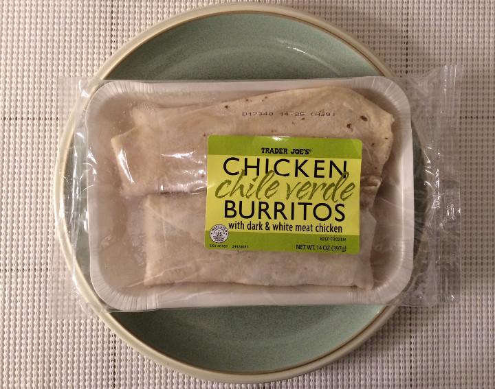 Trader Joe's Chicken Chile Verde Burritos