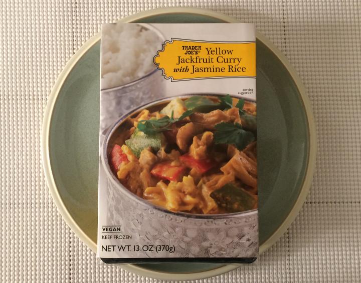 Trader Joe's Yellow Jackfruit Curry with Jasmine Rice