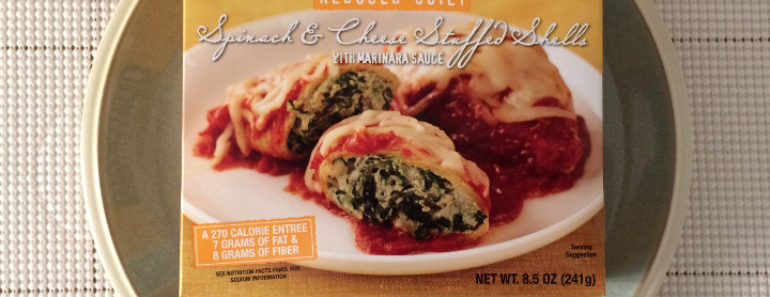 Trader Joe's Reduced Guilt Spinach & Cheese Stuffed Shells