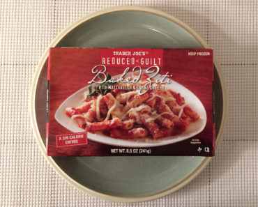 Trader Joe's Reduced Guilt Baked Ziti with Mozzarella & Grana Cheese