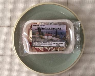Trader Joe's Spinach Lasagna