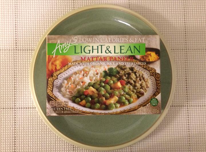 Amy's Light & Lean Mattar Paneer