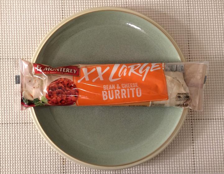 El Monterey XX Large Bean & Cheese Burrito
