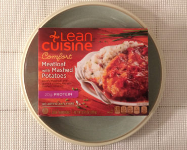 Lean Cuisine Meatloaf with Mashed Potatoes Review