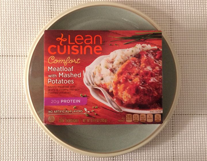 Lean Cuisine Meatloaf with Mashed Potatoes