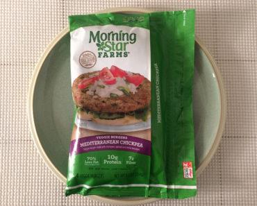Morningstar Farms Mediterranean Chickpea Veggie Burgers Review