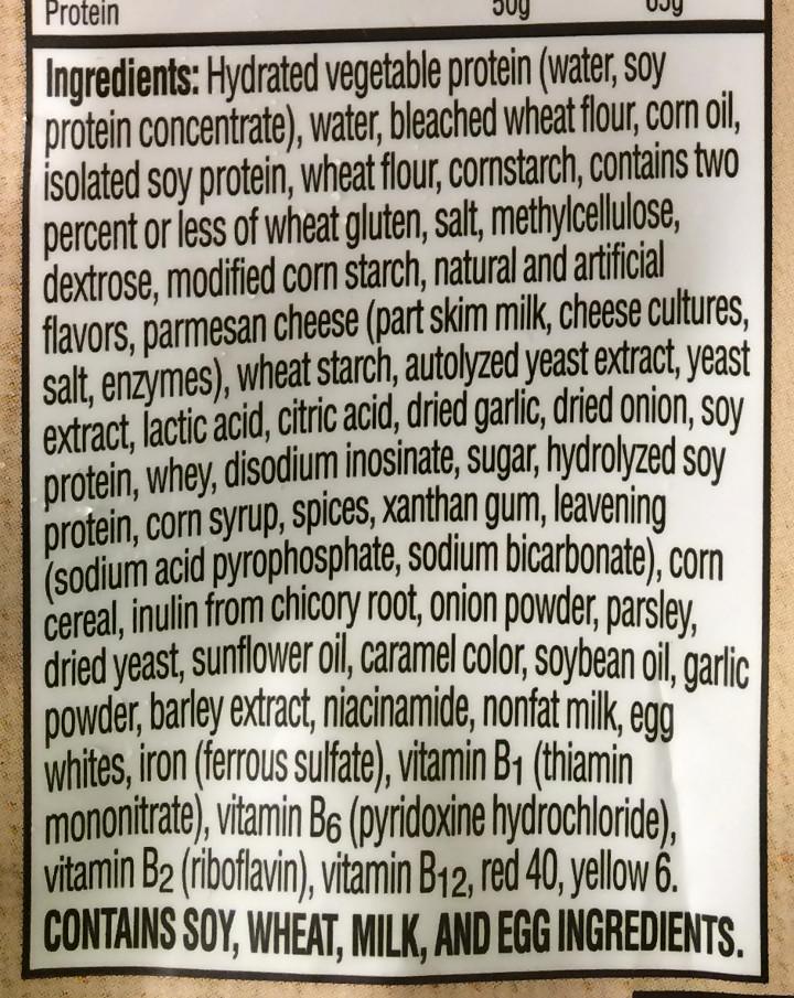 Morningstar Farms Parmesan Garlic Wings