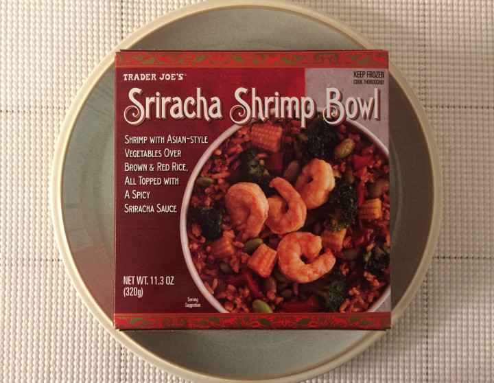 Trader Joe's Sriracha Shrimp Bowl
