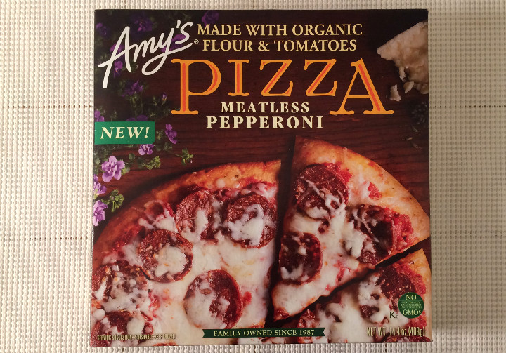 Amy's Meatless Pepperoni Pizza