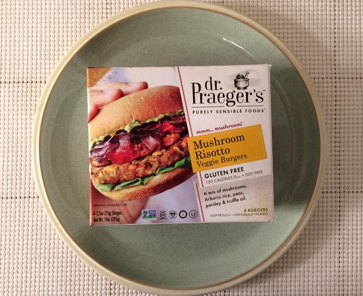 Dr. Praeger's Mushroom Risotto Veggie Burgers