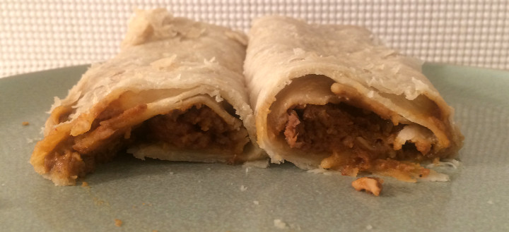 El Monterey XX Large Spicy Red Hot Beef & Bean Chimichanga