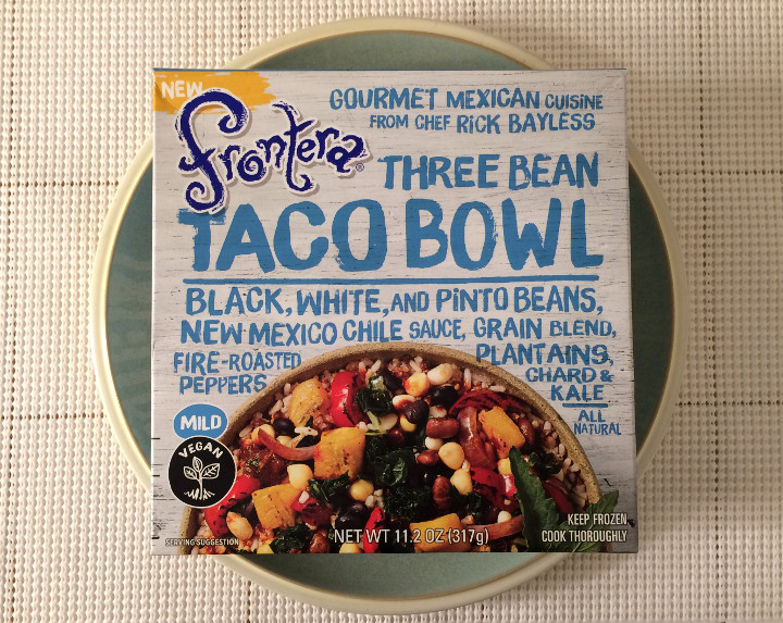 Frontera Three Bean Taco Bowl