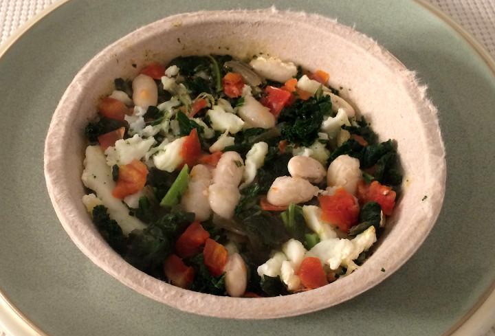 Healthy Choice Pesto & Egg White Scramble